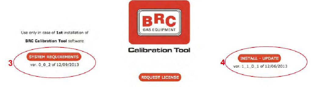 Brc calibration tool инструкция